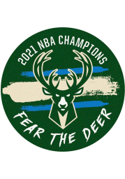 Milwaukee Bucks 2021 NBA Finals Champions Basketball Interior Rug