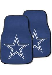 Sports Licensing Solutions Dallas Cowboys 2pk Carpet Car Mat - Blue