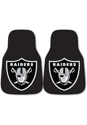 Sports Licensing Solutions Las Vegas Raiders 2-Piece Carpet Car Mat - Black