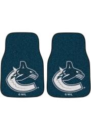 Sports Licensing Solutions Vancouver Canucks 2-Piece Carpet Car Mat - Blue