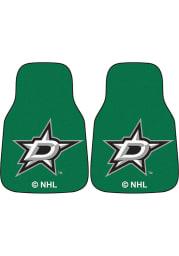 Sports Licensing Solutions Dallas Stars 2-Piece Carpet Car Mat - Green