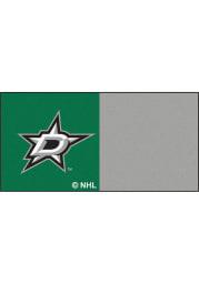 Dallas Stars 18x18 Team Tiles Interior Rug