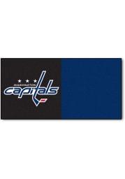 Washington Capitals 18x18 Team Tiles Interior Rug