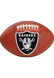 Las Vegas Raiders 22x35 Football Interior Rug