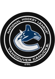 Vancouver Canucks 27` Puck Interior Rug