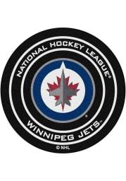 Winnipeg Jets 27` Puck Interior Rug