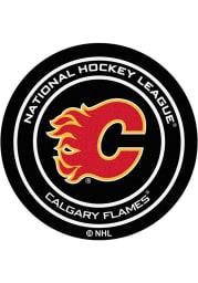 Calgary Flames 27` Puck Interior Rug