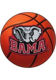 Alabama Crimson Tide 27` Basketball Interior Rug