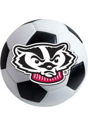 Wisconsin Badgers 27 Inch Soccer Interior Rug