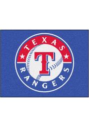 Texas Rangers 34x45 All Star Interior Rug