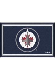 Winnipeg Jets 4x6 Interior Rug