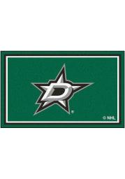 Dallas Stars 4x6 Interior Rug