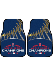 Sports Licensing Solutions Boston Red Sox 2018 World Series Champions Car Mat - Navy Blue
