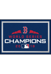 Boston Red Sox 2018 World Series Champions 5x8 Interior Rug