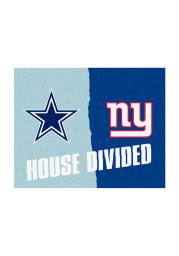Dallas Cowboys 34x45 House Divided Interior Rug