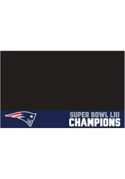 New England Patriots Super Bowl LIII 26x42 BBQ Grill Mat