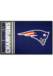 New England Patriots Super Bowl LIII 19x30 Interior Rug
