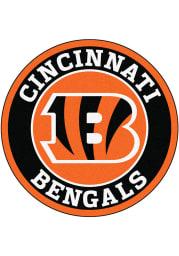 Cincinnati Bengals 26 Roundel Interior Rug