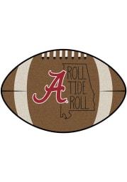 Alabama Crimson Tide Southern Style 20x32 Football Interior Rug