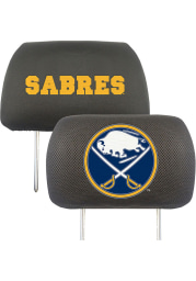 Sports Licensing Solutions Buffalo Sabres 10x13 Head Rest Auto Head Rest Cover - Black