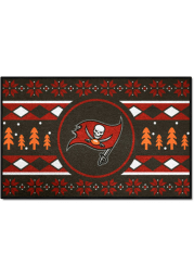 Tampa Bay Buccaneers 19x30 Holiday Sweater Starter Interior Rug