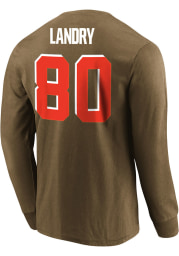 Jarvis Landry Cleveland Browns Brown Eligible Receiver Long Sleeve Player T Shirt