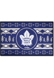 Toronto Maple Leafs 19x30 Holiday Sweater Starter Interior Rug
