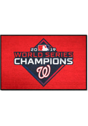 Washington Nationals 2019 World Series Champions 19x30 Starter Interior Rug