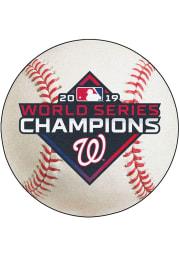 Washington Nationals 2019 World Series Champions 27 Baseball Interior Rug