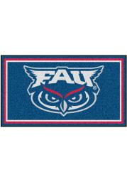 Florida Atlantic Owls 3x5 Plush Interior Rug