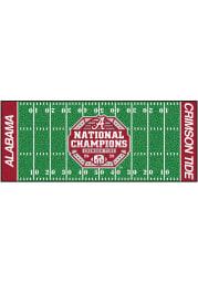 Alabama Crimson Tide 2020 National Champions Football Field Interior Rug