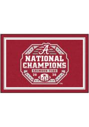 Alabama Crimson Tide 2020 National Champions 5x8 Interior Rug