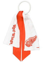 Detroit Red Wings Ponytail Holder Youth Hair Scrunchie