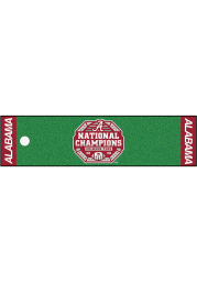 Alabama Crimson Tide 2020 National Champions Putting Green Interior Rug