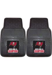 Sports Licensing Solutions Tampa Bay Buccaneers Super Bowl LV Champion 2 Piece Vinyl Car Mat - Black