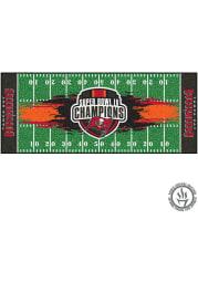 Tampa Bay Buccaneers Super Bowl LV Champion Football Field Interior Rug