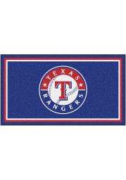 Texas Rangers 3x5 Plush Interior Rug