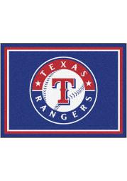 Texas Rangers 8x10 Plush Interior Rug