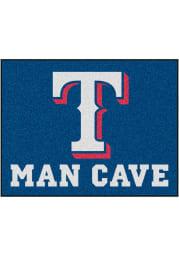 Texas Rangers 34x42 Man Cave All Star Interior Rug