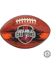 Tampa Bay Buccaneers Super Bowl LV Champion Football Interior Rug