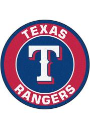 Texas Rangers 27 Roundel Interior Rug