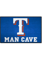 Texas Rangers 19x30 Man Cave Starter Interior Rug