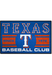 Texas Rangers 19x30 Uniform Starter Interior Rug