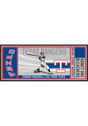Texas Rangers 30x72 Ticket Runner Interior Rug