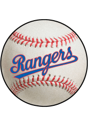 Texas Rangers 27 Baseball Interior Rug