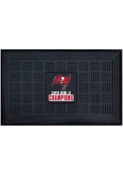 Tampa Bay Buccaneers Super Bowl LV Champion Medallion Door Mat