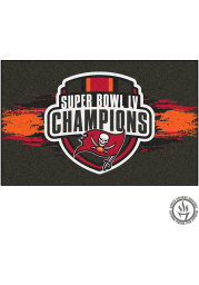 Tampa Bay Buccaneers Super Bowl LV Champion Starter Interior Rug