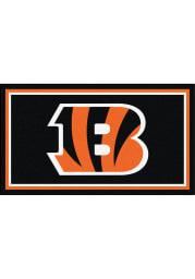 Cincinnati Bengals 3x5 Plush Interior Rug