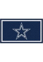Dallas Cowboys 3x5 Plush Interior Rug