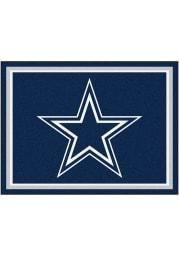 Dallas Cowboys 8x10 Plush Interior Rug